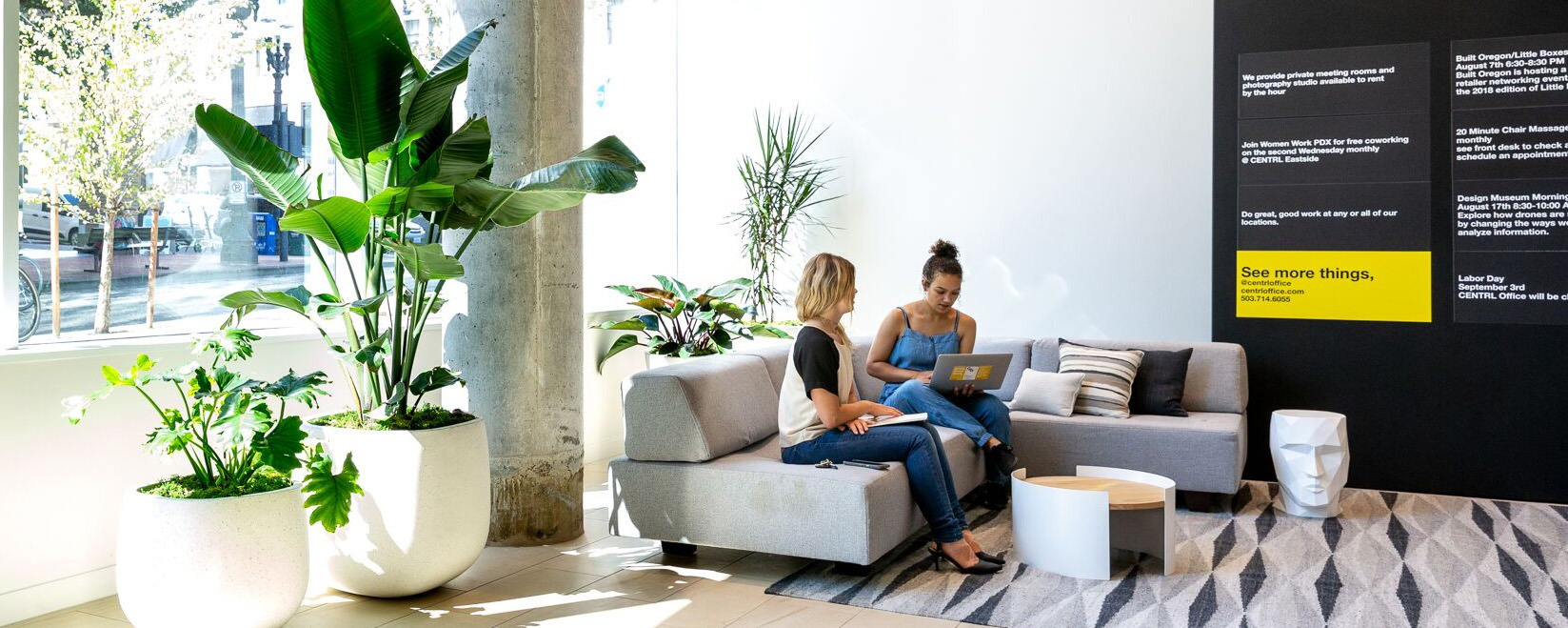 Coworking & Meeting Space in Portland Downtown | CENTRL Office
