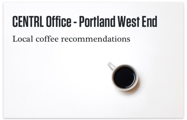 Portland West End Coffee Recommendations